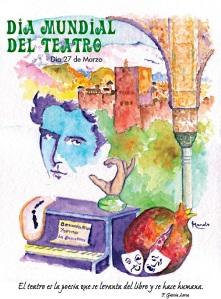 El día Mundial del Teatro se creó en 1961 por iniciativa del Instituto Internacional del Teatro (ITI). Uno de los actos más representativos es la circulación del Mensaje Internacional, tradicionalmente escrito por una personalidad de reconocido prestigio en el mundo del teatro.